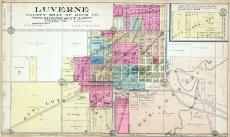 Luverne County Seat of Rock County, Rock County 1914